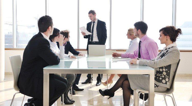 company meeting of executives