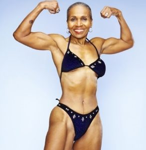 82 year old woman body builder